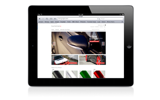 Buy Vinyl Wraps part of Vento's Award-Winning Web Design Portfolio